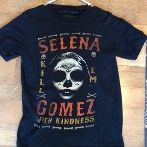 Selena Gomez graphic tee